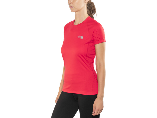 The North Face Flex t-shirt Dames, juicy red